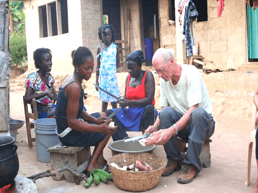 Experience Ghanaian cooking