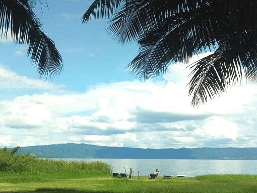 lake Bosumtwi in Ashanti Ghana