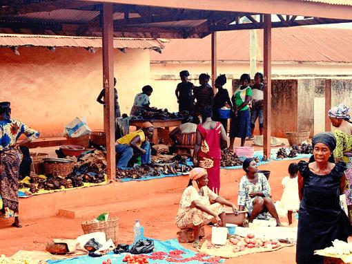market at Banko