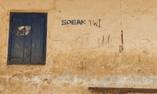 Twi is een lokale taal in Ghana, handig om te weten ter voorbereiding van je reis