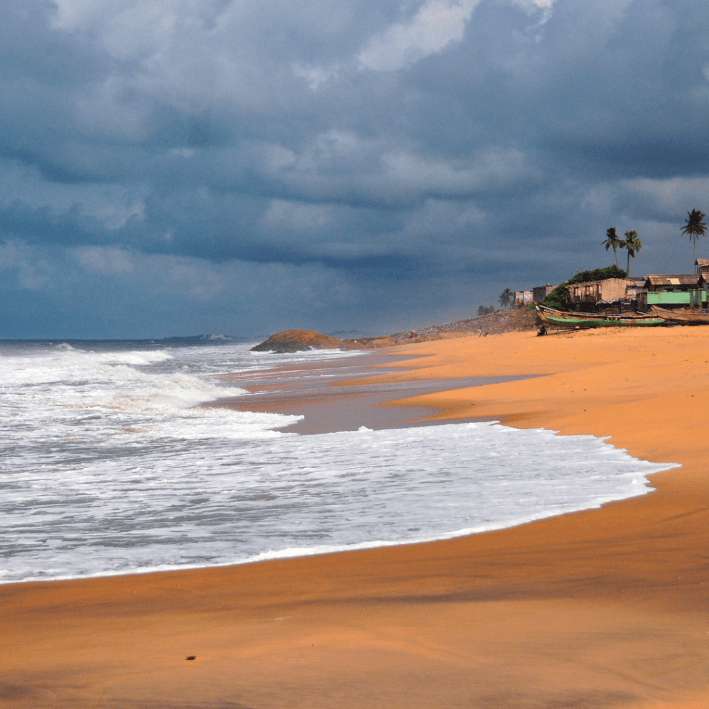 In love on the beautiful beaches of Ghana