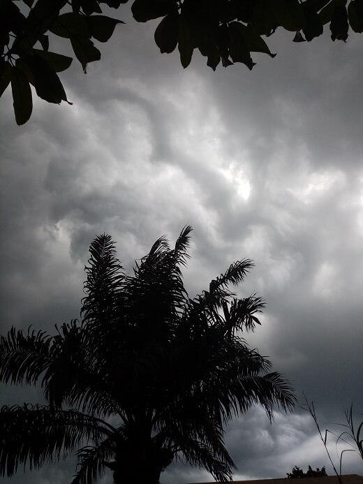 ook in februari kan het behoorlijk regenen