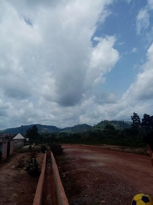 in september start het kleine regenseizoen in Ghana